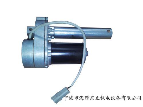 电动推杆简介      电动推杆是一种将电动机的旋转运动转变为推杆
